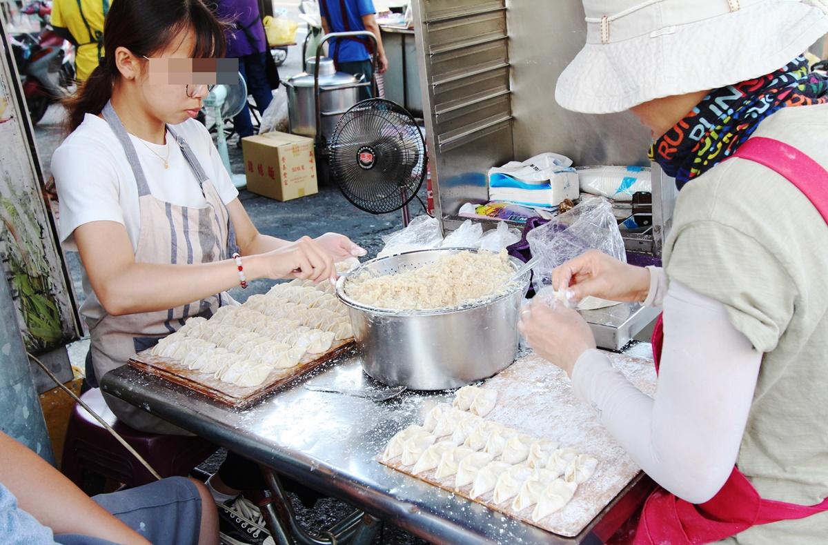 大灣煎餃-包餃子