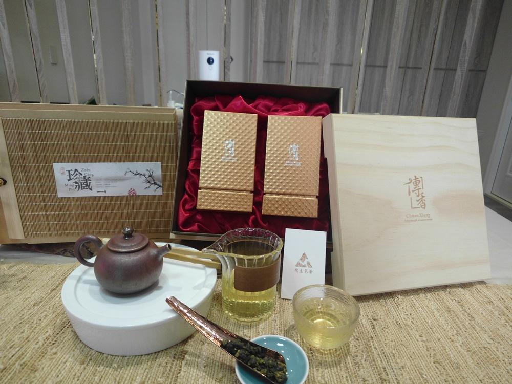 松山茗茶-茶葉禮盒